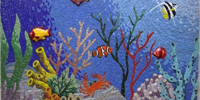 Dekoratif Mozaik Tablo Modelleri