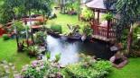 Şık Bahçe Dekorasyonu