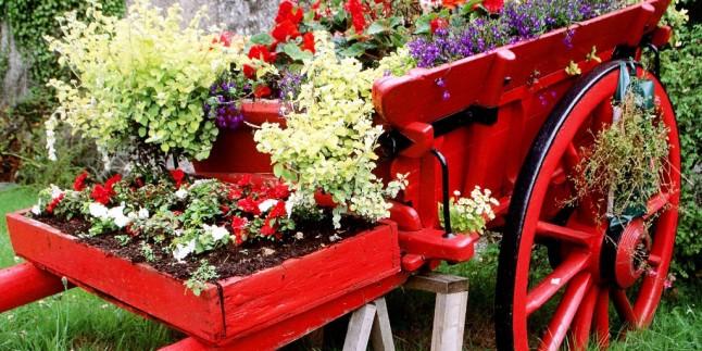 Küçük Bahçe Dekorasyon Modelleri