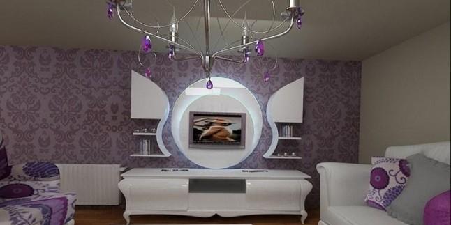 Led Işıklı Tv Ünitesi Modelleri