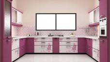 2017 Çift Renkli Mutfak Dolapları