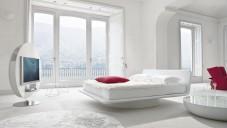 2017 Beyaz Yatak Odası Dekorasyonu