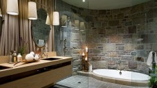 2017 Doğal Mermer Banyo Modelleri