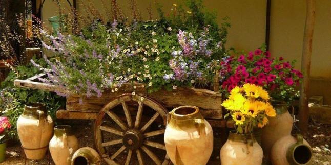 2017 Taşlarla Yapacağınız Bahçe Dekorasyonu