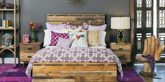 2017 Yatak Odası Dekorasyonu