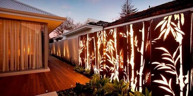 Dekoratif Bahçe Kapısı Dekorasyonu