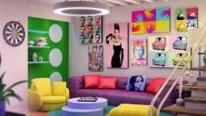 2017 Pop Art Dekorasyon Fikirleri