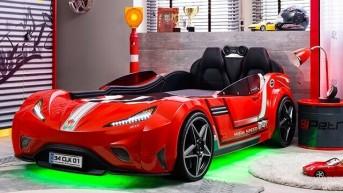2017 Çilek Arabalı Yatak Karyola Modelleri
