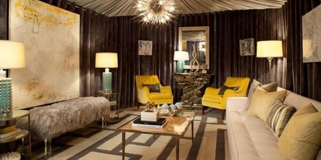 Eviniz İçin Kahverengi Renk Dekorasyonu