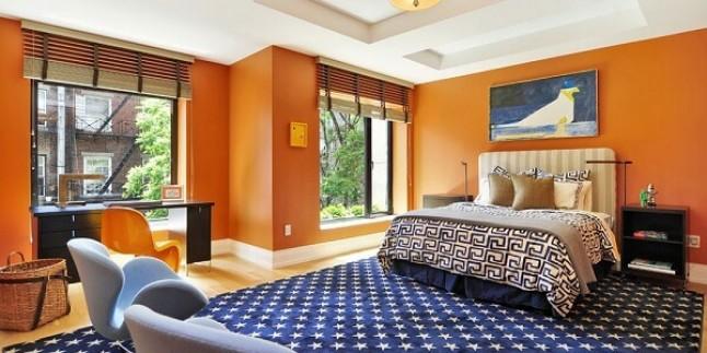 Turuncu Renkli Ev Dekorasyon Fikirleri