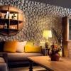 Salonlarda Taş Duvar Dekorasyonu