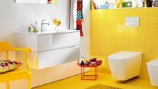Sarı Banyo Dekorasyonu