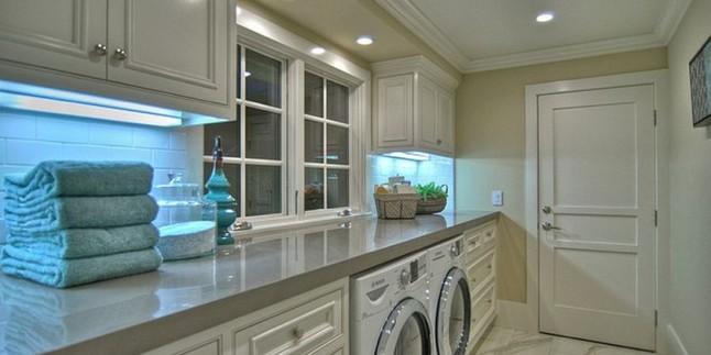 Çamaşır Makinesi Dolap Tasarımları