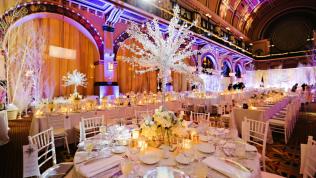 Kış Düğünleri İçin Dekorasyon Fikirleri