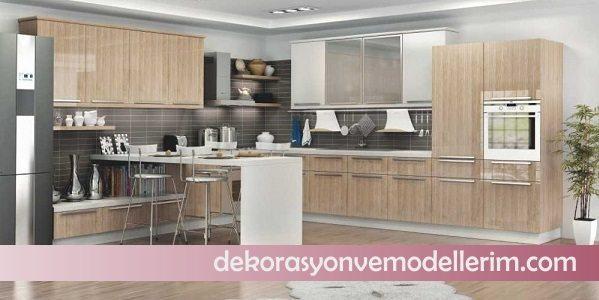 2017 renkli mutfak modelleri ev dekorasyonu ve yeni modeller. Black Bedroom Furniture Sets. Home Design Ideas