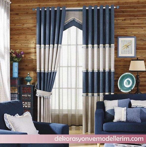 2017 spor perde modelleri ev dekorasyonu ve yeni modeller. Black Bedroom Furniture Sets. Home Design Ideas