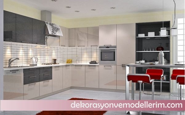 2017 ki renkli mutfak modelleri ev dekorasyonu ve yeni modeller. Black Bedroom Furniture Sets. Home Design Ideas