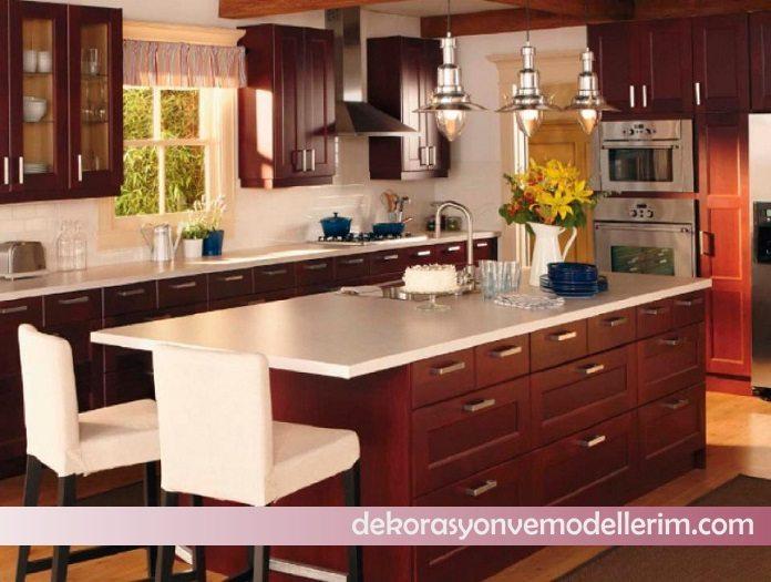 2017 yeni mutfak dekorasyonu modelleri ev dekorasyonu ve yeni modeller. Black Bedroom Furniture Sets. Home Design Ideas