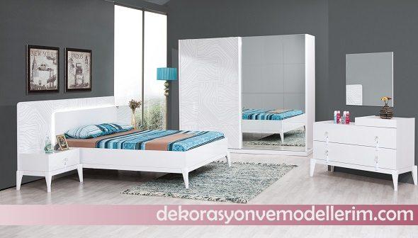 Beyaz Yatak Odasi Takimlari Ev Dekorasyonu Ve Yeni Modeller