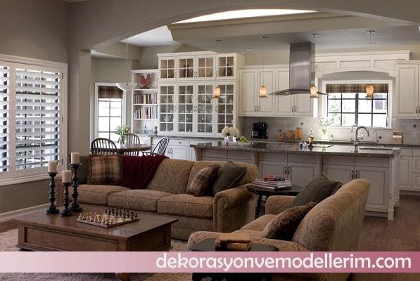 2017 amerikan mutfak modelleri ev dekorasyonu ve yeni modeller. Black Bedroom Furniture Sets. Home Design Ideas